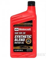 XO5W30QSP Motorcraft ® SAE 5W-30 Synthetic Blend Motor Oil