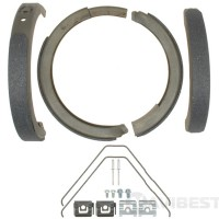 14784B колодки стояночного тормоза CADILLAC CTS 2003-2007, CADILLAC STS 2009-2011, CHEVROLET CORVETTE 1997-2013, FORD EDGE 2007-2010, LINCOLN MKX 2007-2010
