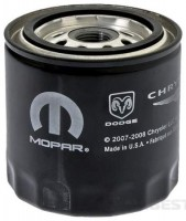 5281090 Mopar фильтр масла DODGE 1991-2008, CHRYSLER 1991-2008, DODGE 1979-2010, JEEP 1991-2008, PLYMOUTH 1991-2001